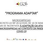 O Programa ADAPTAR