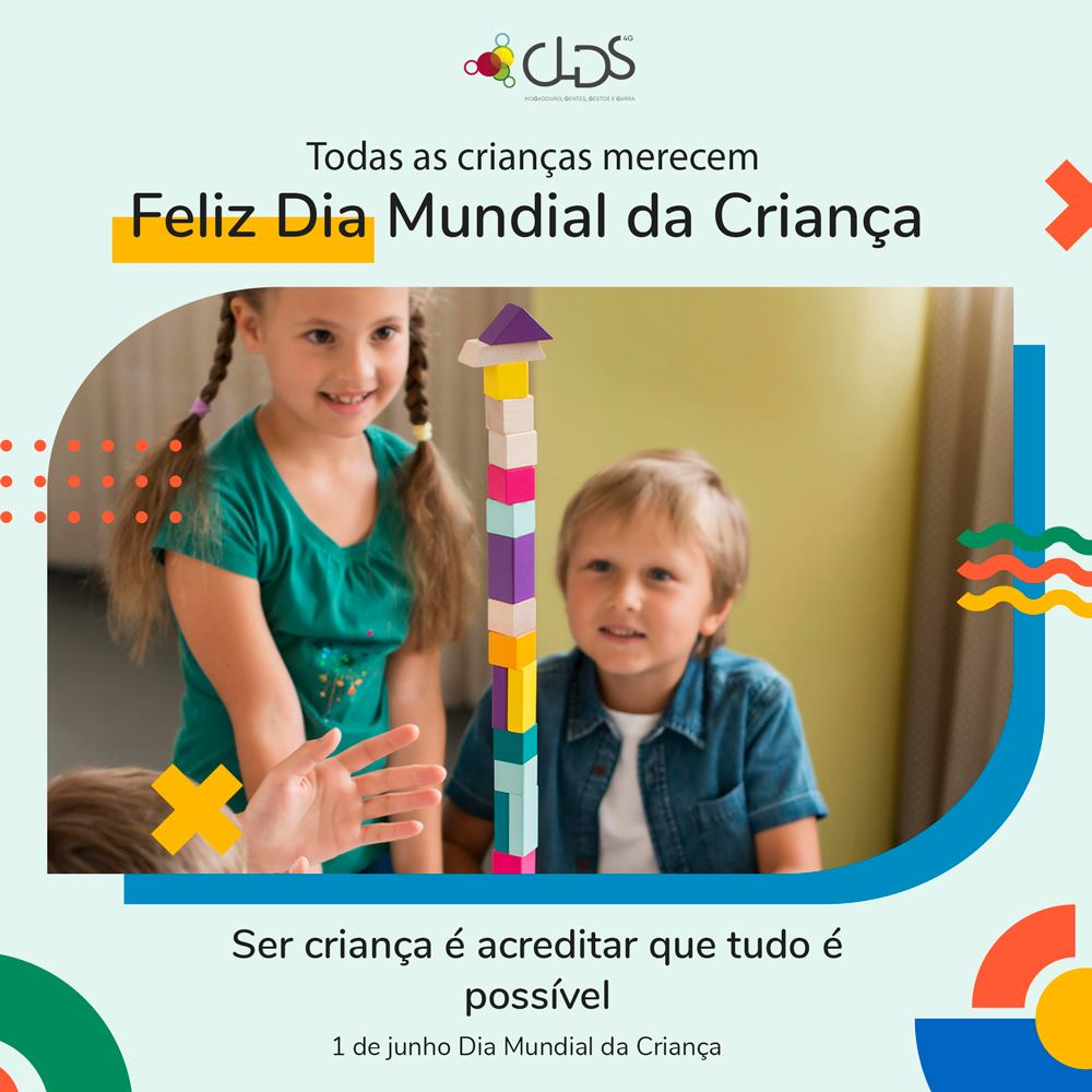 dia mundial da criança - clds